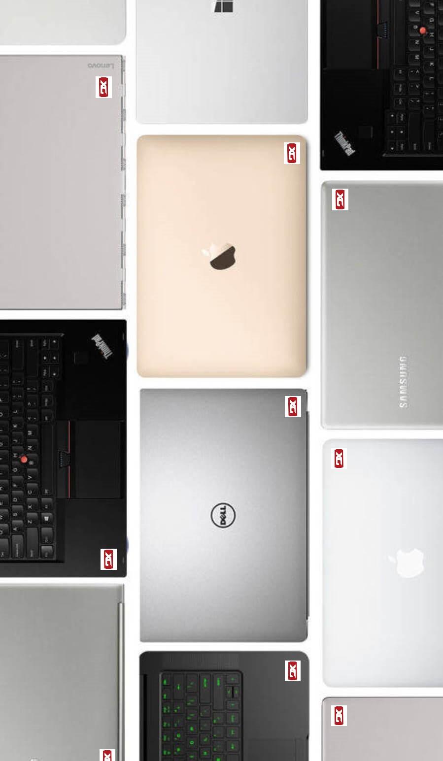 Portátiles de diferentes marcas gerona
