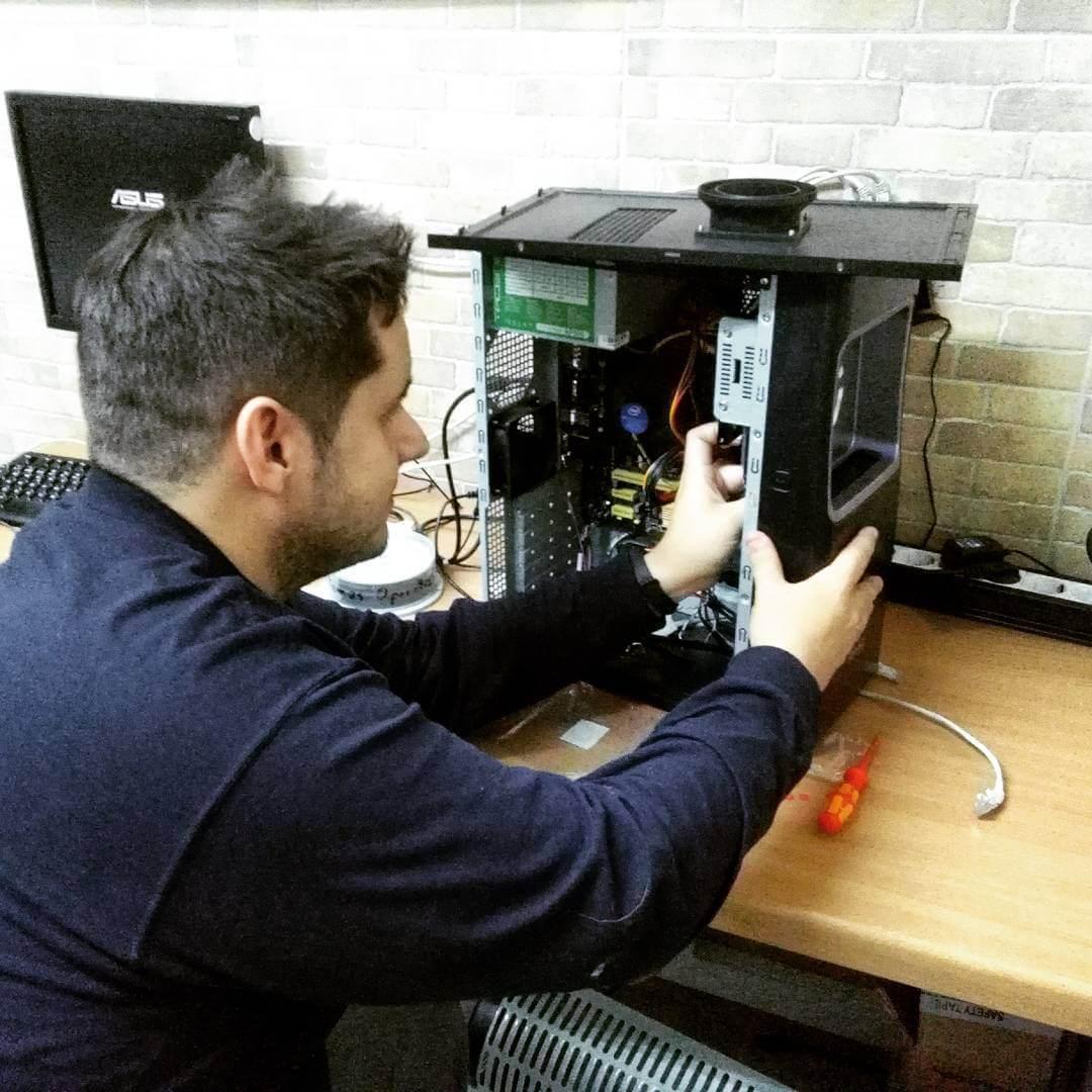 como arreglar problema en la torre del ordenador