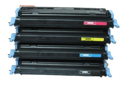 cuatro toners para impresoras
