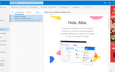 Cómo crear una cuenta hotmail o outlook gratis, el correo electrónico de Microsoft