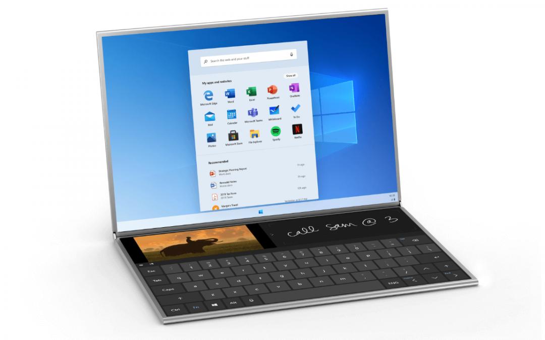 Microsoft lanza el sistema operativo Windows 10X para PCs con doble pantalla