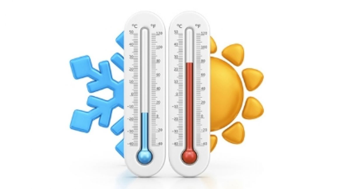 evita el extremo de temperatura