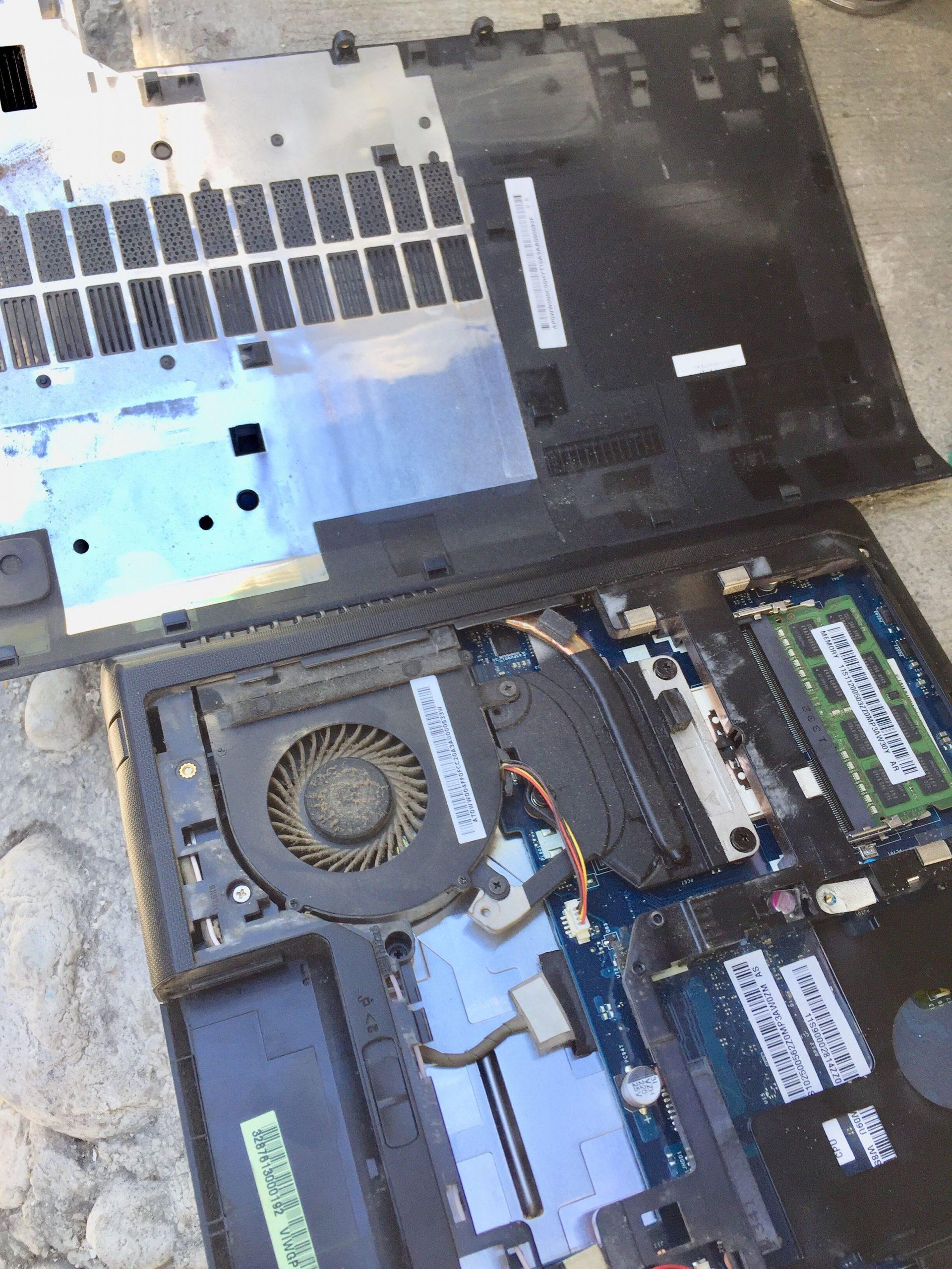 saca el polvo del sistema de ventilacion de tu ordenador