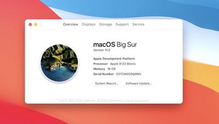 MacOs Big Sur nueva versión del sistema operativo de Apple