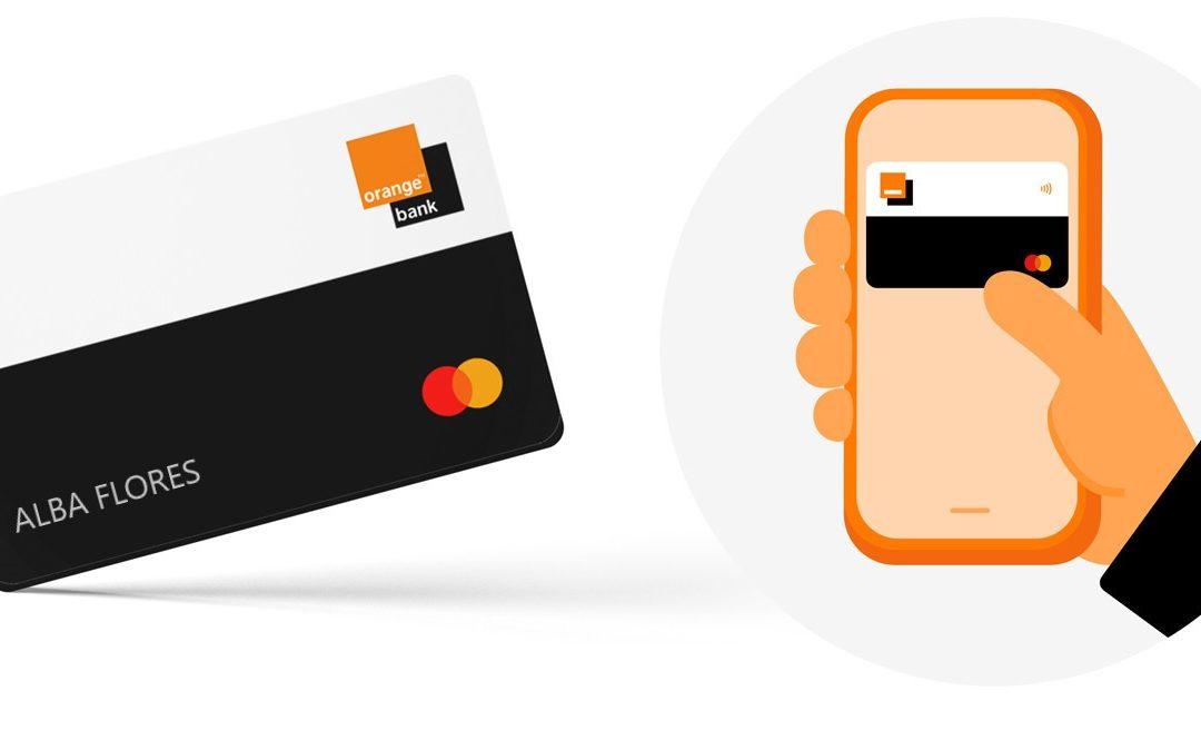Orange Bank lanza en España la tarjeta de débito 100% móvil sin data de caducidad, sin números ni CVC