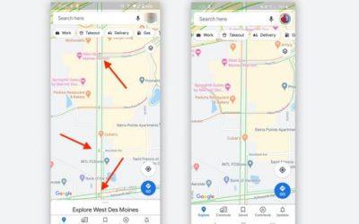 Cómo ir por atajos en Google Maps y ahorrar tiempo por las retenciones