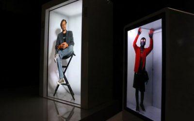 Epic PORTL nos trae un holograma a tamaño real donde podemos interactuar con la persona que hay dentro de él