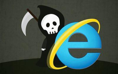 Internet Explorer dice adiós y desaparece para siempre
