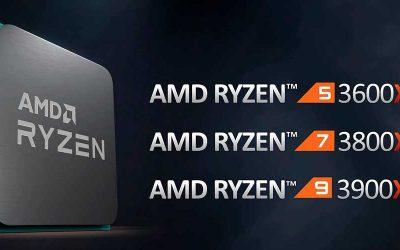 Los nuevos AMD Ryzen 3000XT son mucho más veloces que sus antecesores