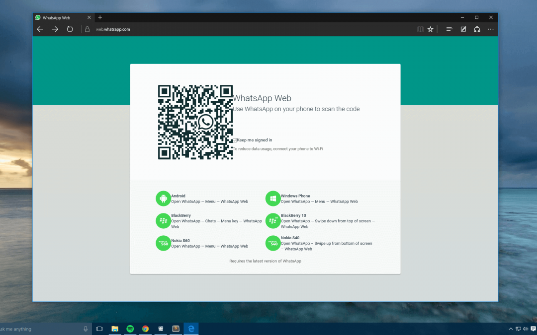 Qué es y cómo usar WhatsApp Desktop en el ordenador