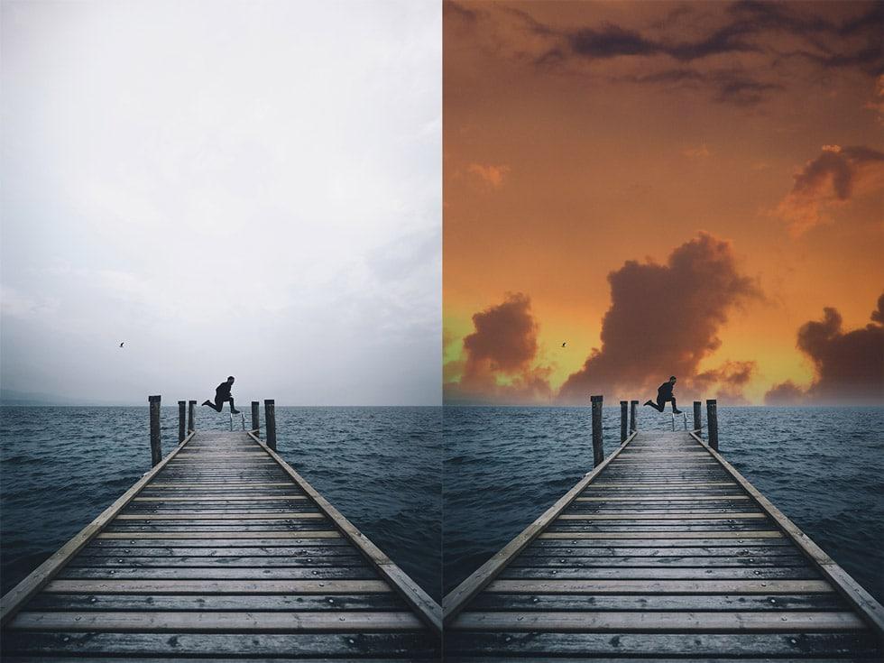 La nueva tecnología de inteligencia artificial se llama Adobe Sensei. Gracias a Photoshop, podremos reemplazar el cielo las fotografías que querremos editar de manera automática.