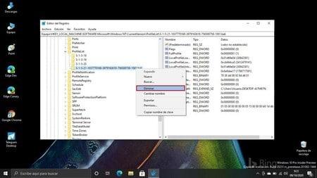 Cuarto paso para solucionar el problema de Windows con perfil temporal