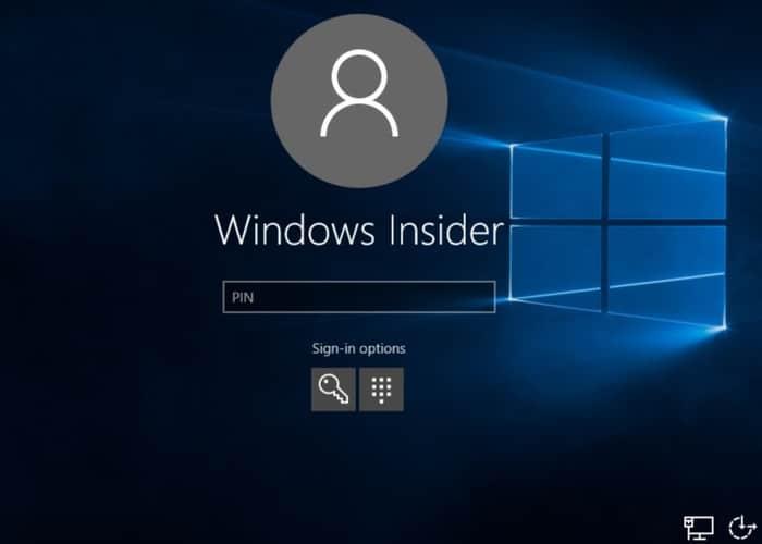 Inicio de sesión en Windows 10 sin contraseña obligatoria